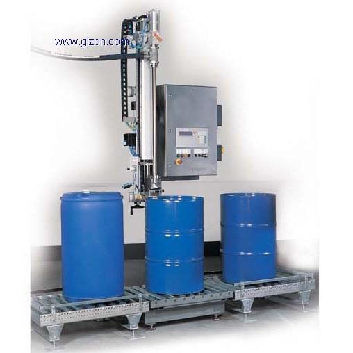 适用于有泡沫液体200L灌装机