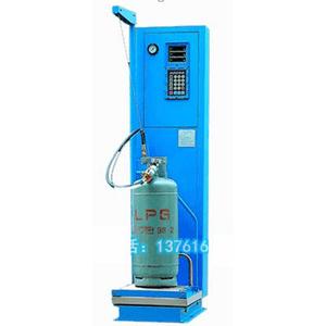 Liquid gas cylinder filling machine
