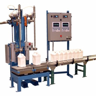 5L automatic weighing filling machine