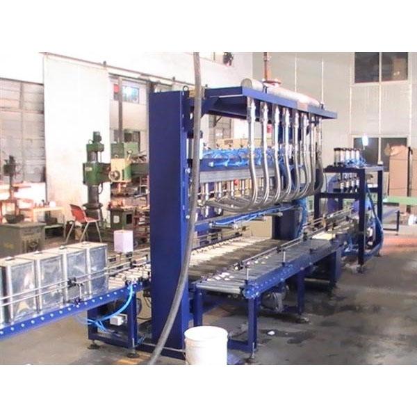 Full automatic 4L motor oil filling line
