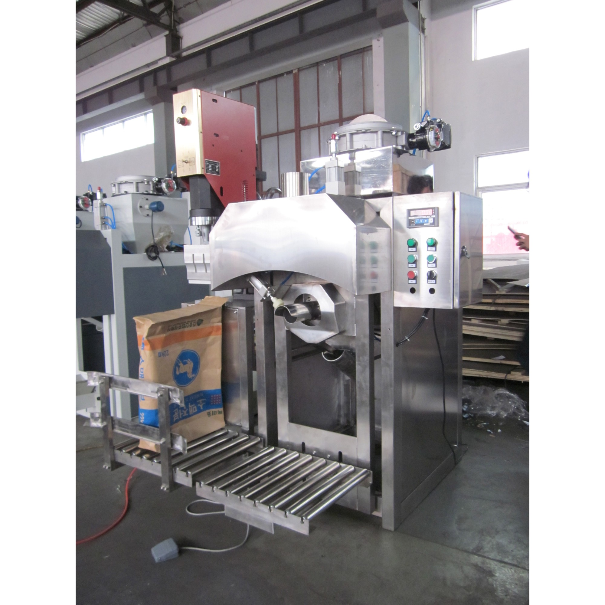 GZM-50AS all stainless steel pneumatic bag packing machine