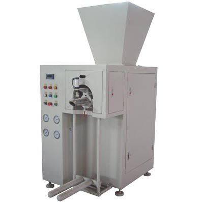 Screw type valve bag packaging machine