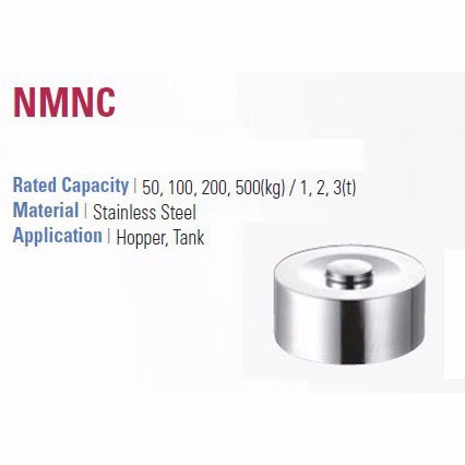 CAS NMNC sub-miniature load cell, 50kgf - 3t