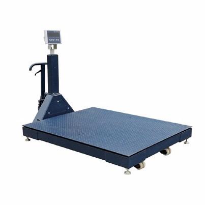Movable 1.2m 2 ton pallet platform scale