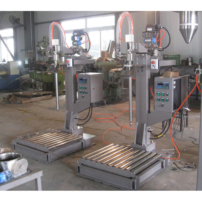 Simple 200kg refine glycerin steel drum filling line
