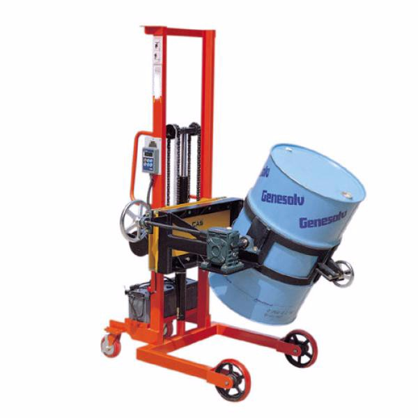 200kg drum lifting filling weighing scale