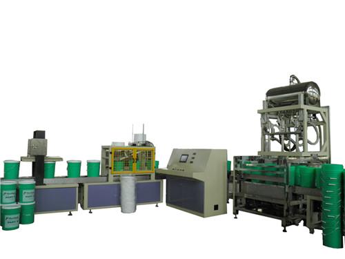 自动化工液体灌装机-20升单头 液体定量灌装生产线