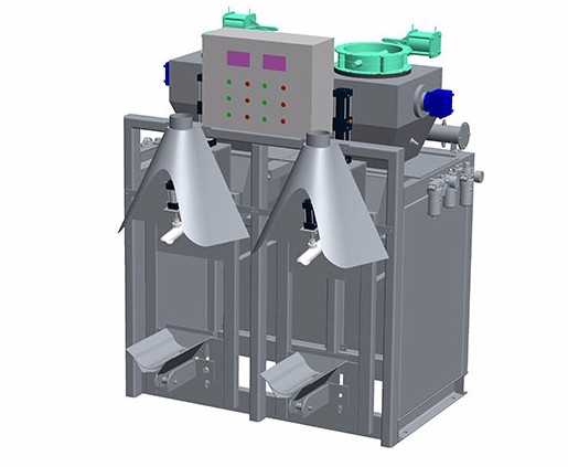 预拌干混砂浆包装机气压式