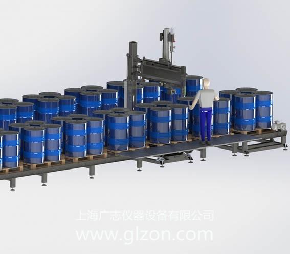 200升化工大桶自动灌装机 防爆灌装机