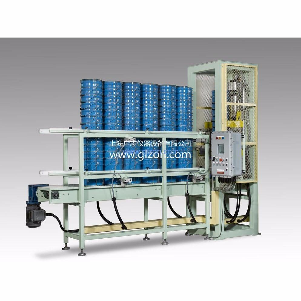 25升涂料全自动灌装生产线 上桶、灌装、压盖、码垛