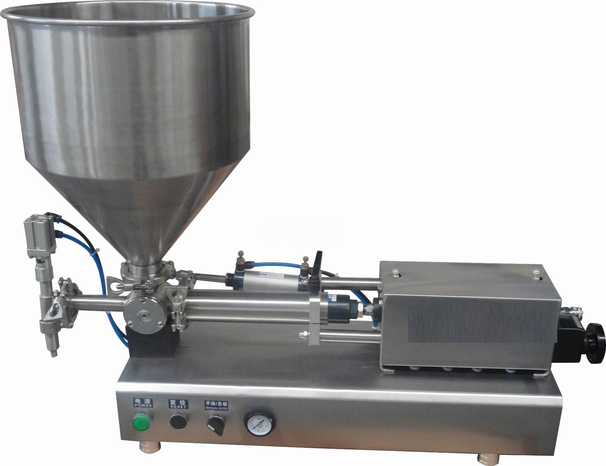 气动膏体灌装机全自动 蜂蜜灌装机 化妆品膏体分装机胶水灌装机