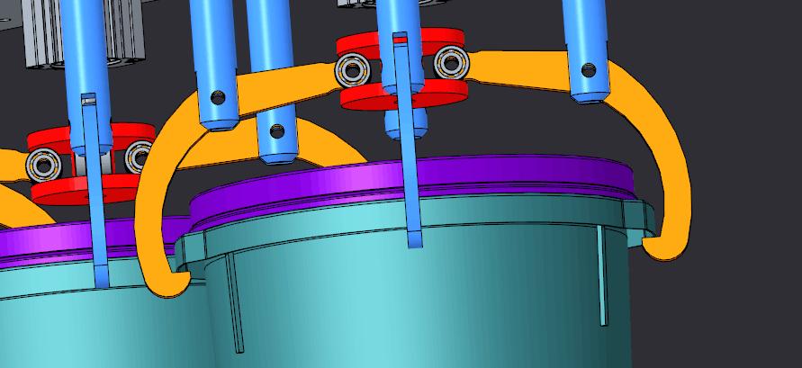 18升油漆涂料灌装控制单元