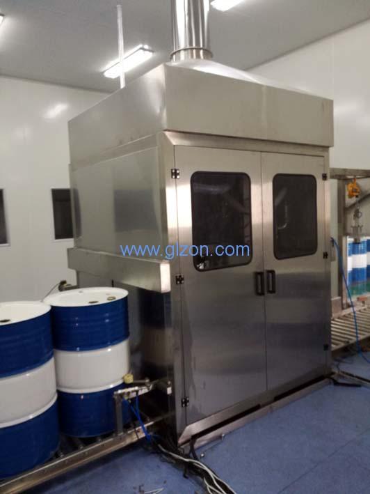 密闭型灌装机废气收集的要求及操作流程