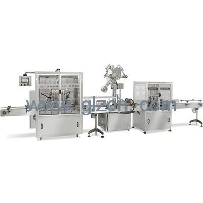 液体自动灌装机_玻璃水灌装机