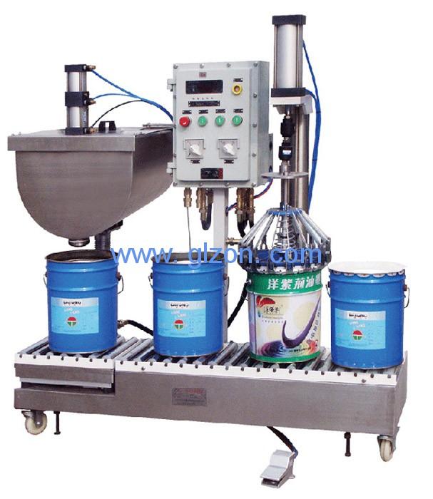 大容量高精度液体灌装设备