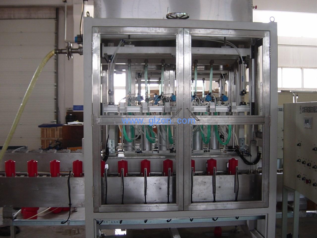 食用油灌装机液位控制系统