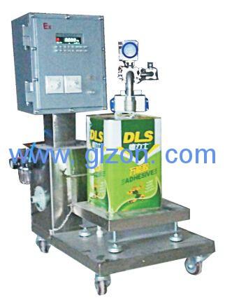 溶剂、香蕉水、稀释剂称重灌装机
