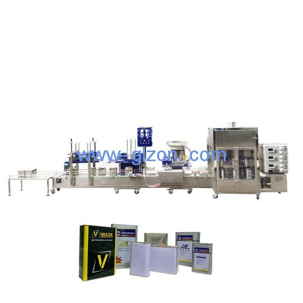 固化剂、稀释剂、松节油灌装机